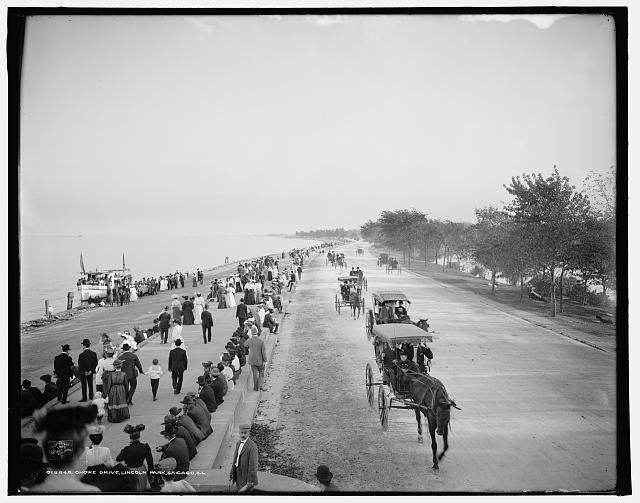Shore Drive, Lincoln Park, Chicago, Ill.