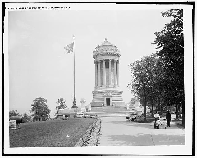 Soldiers' and Sailors' Monument, New York, N.Y.