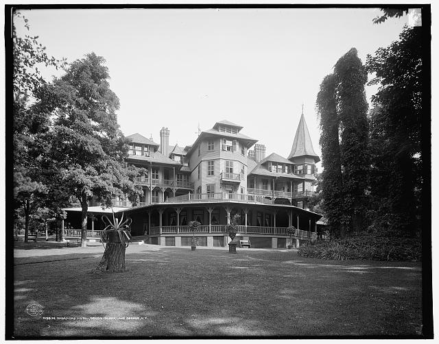 Sagamore Hotel, Green Island, Lake George, N.Y.