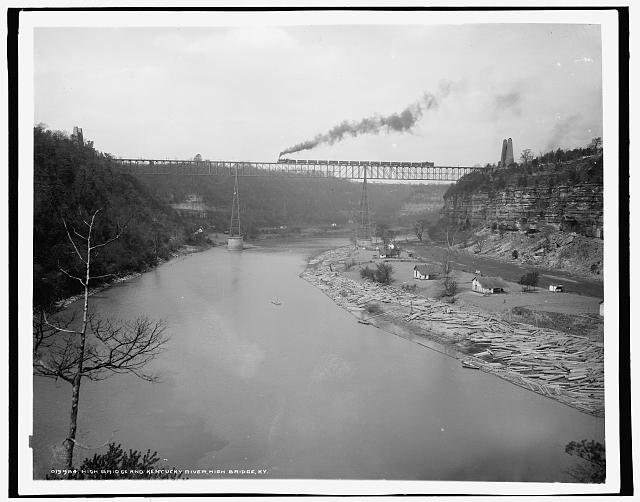 High Bridge and Kentucky River, High Bridge, Ky.