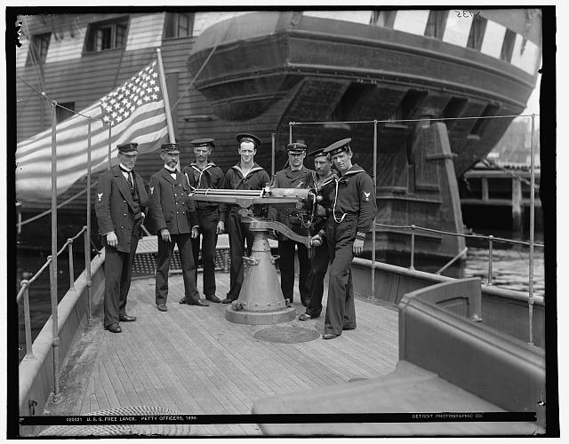 U.S.S. Free Lance, petty officers, 1898