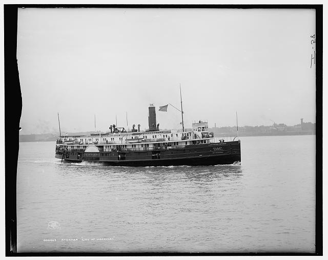 Steamer City of Mackinac, [Detroit & Cleveland Navigation Co.]