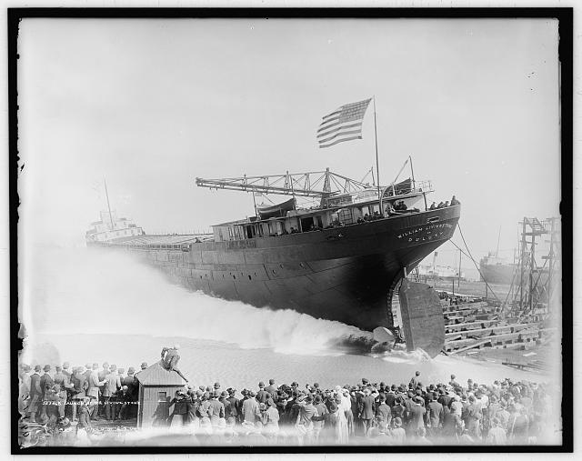 Launch of S.S. Livingstone