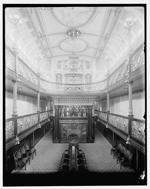 Grand Salon, Str. City of Cleveland
