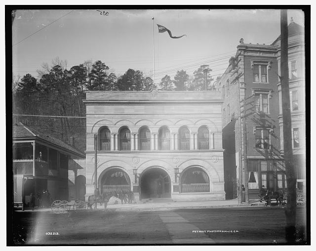 [Hot Springs, Arkansas, Southern Club]