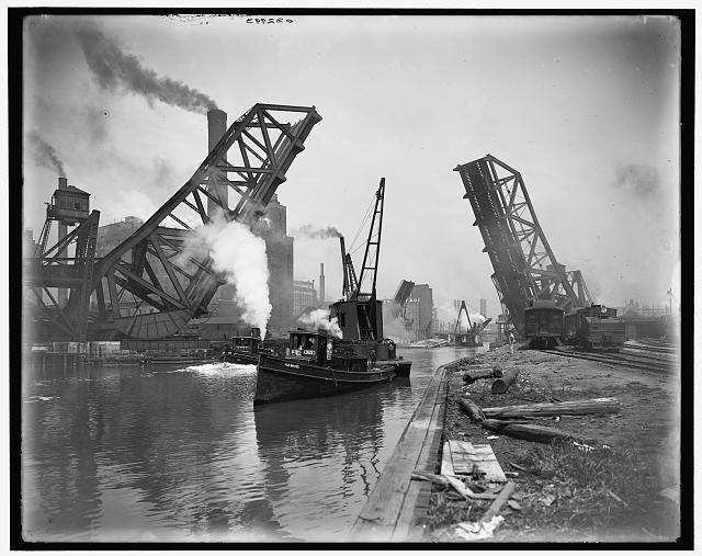[Chicago, Ill., 12th St. Bascule Bridge]