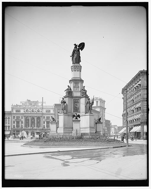 [Soldiers' and Sailors' Monument, Detroit, Mich.]