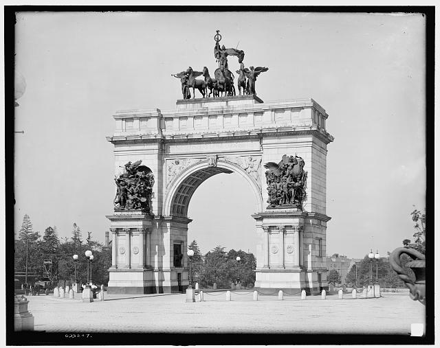 [Soldiers' and Sailors' Memorial Arch, Brooklyn, N.Y.]