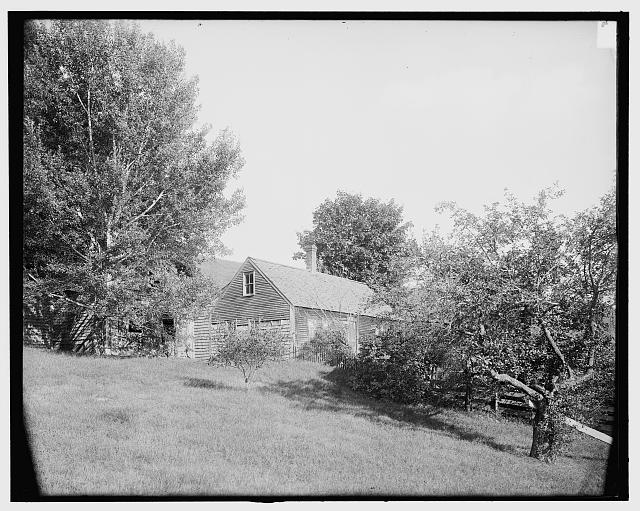 [An Abandoned farm house on Red Hill (Center Harbor), Lake Winnipesaukee, N.H.]