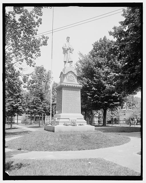 [Soldiers' monument, South Hadley, Mass.]