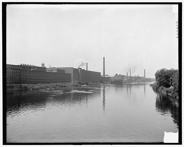 [Lowell, Mass., mills on Merrimack River]