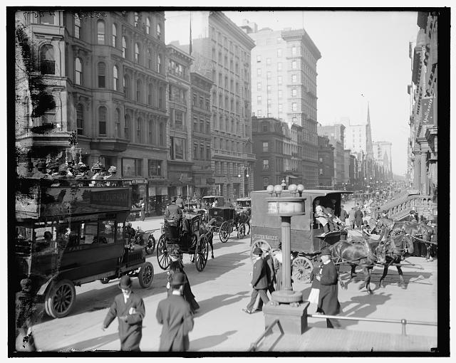 [Fifth Avenue and Forty-second Street, New York, N.Y.]
