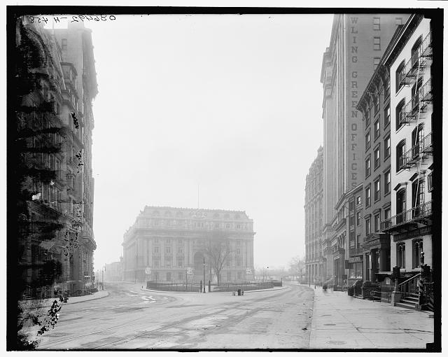 [New York, N.Y., Custom House and Bowling Green]