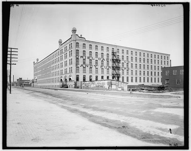 [Oriel Cabinet Co., Grand Rapids, Mich.]