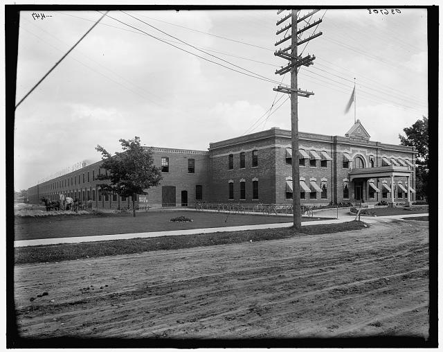 [Reo Motor Car Company's works, Lansing, Mich.]