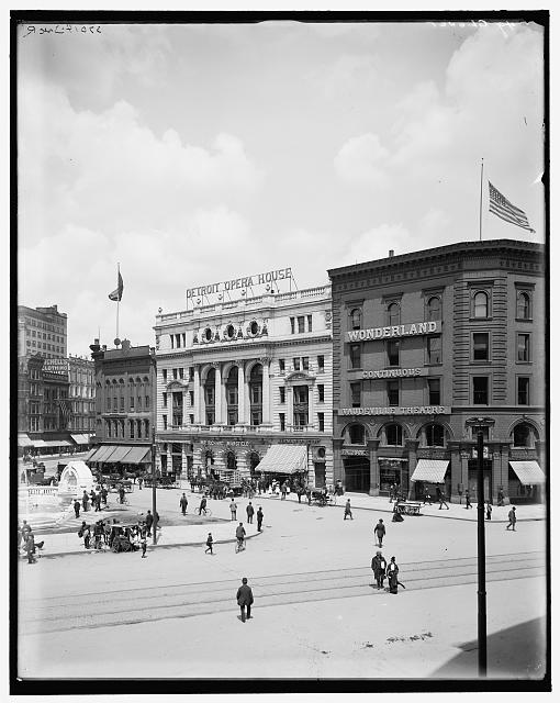 [Detroit, Mich., Campus Martius and Opera House]