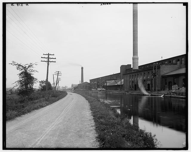 [Erie Canal & Mohawk Valley, Utica, N.Y.]