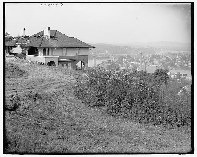 [Missionary Ridge from Cameron Hill, Chattanooga, Tenn.]