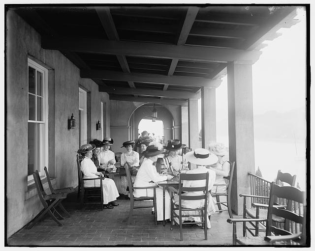 [Detroit Boat Club, a card party, Belle Isle Park, Detroit, Mich.]