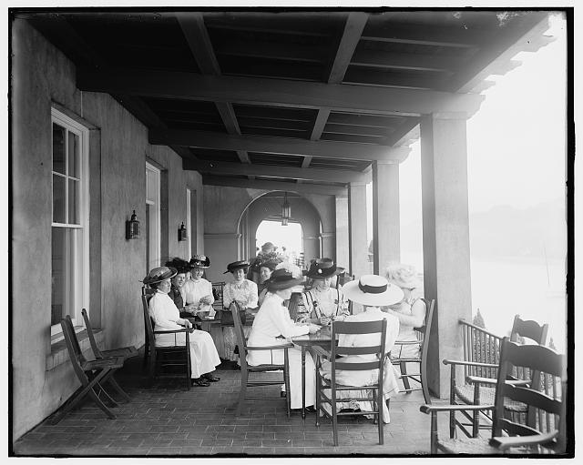 [Detroit Boat Club, a card party, Belle Isle Park, Detroit, Mich.]
