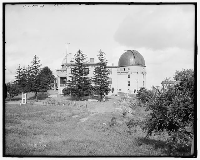 [Observatory of University of Michigan, Ann Arbor,Mich.]