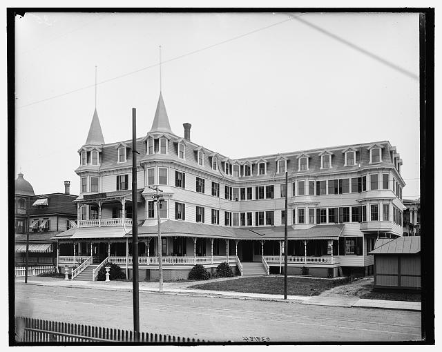 [Colonial Hotel, Cape May, N.J.]