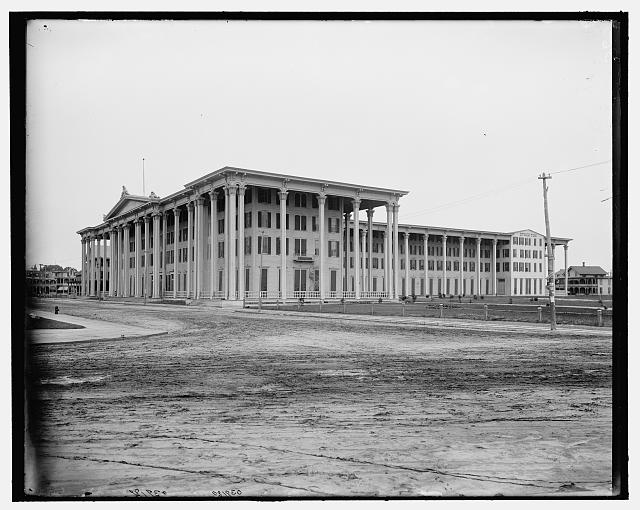 [Stockton Hotel, Cape May, N.J.]