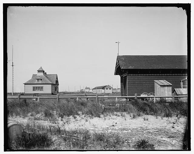 [Cape May, N.J., life saving station]