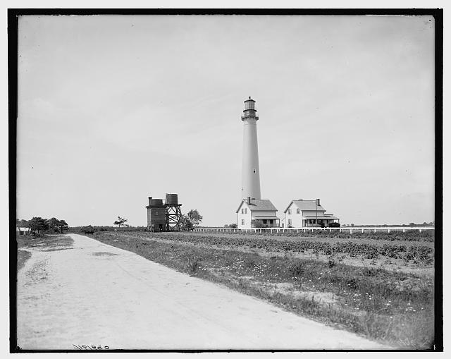 [Light house, Cape May, N.J.]