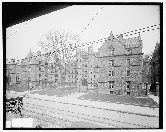 [Vanderbilt Hall, Yale University, New Haven, Conn.]