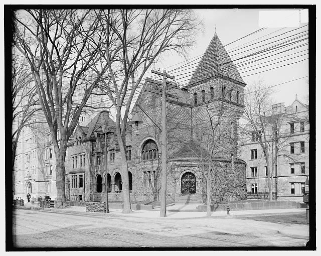 [Delta Psi fraternity house, Yale University, New Haven, Conn.]