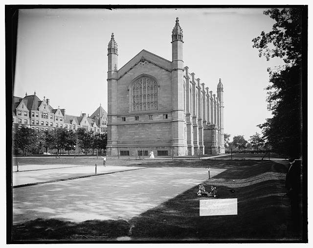 [Law School building, University of Chicago, Chicago, Ill.]