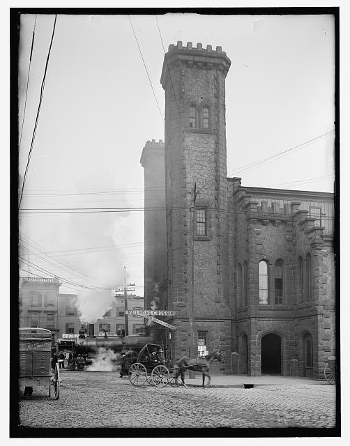 [Boston and Maine Railroad depot, Riley Plaza, Salem, Mass.]