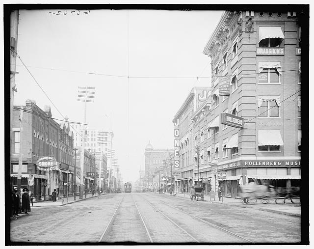 [Main Street north from Sixth, Little Rock, Ark.]