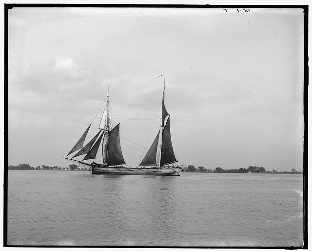 [Old time cavalier, the Great Lakes, Detroit, Mich.]