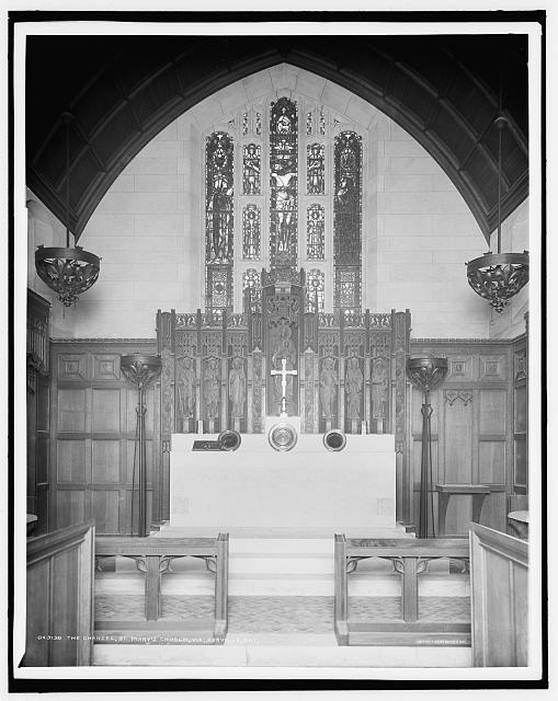 The Chancel, St. Mary's Church, Walkerville, Ont.