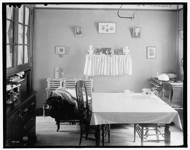 [Interior of tenement house, New York City]