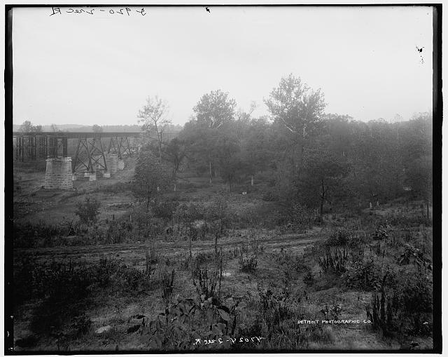 Bridge at Moniteau [County], Mo.