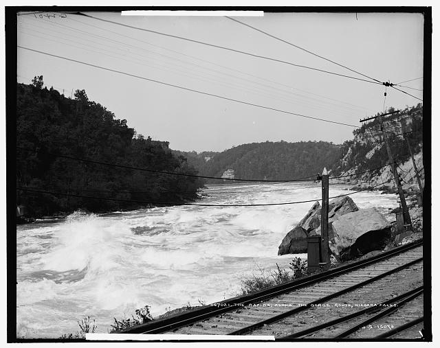 The Rapids, along the [Great] Gorge route [Niagara Gorge Railroad], Niagara Falls