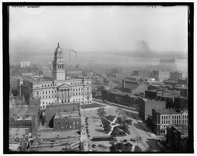 [East from Majestic Building, Detroit, Mich.]