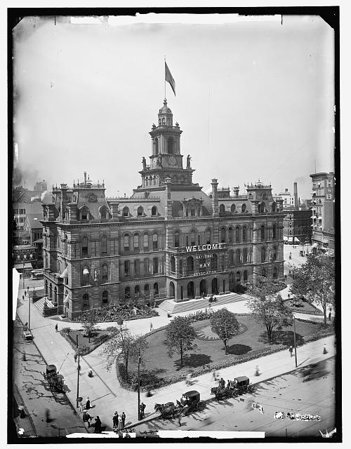 [Campus Martius and City Hall, Detroit, Mich.]