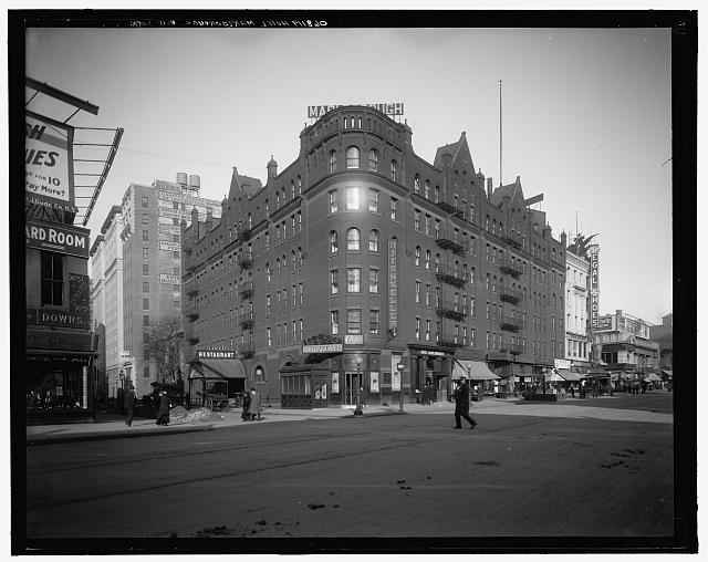 [Hotel Marlborough, New York, N.Y.]