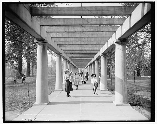 Colonnade, Central Park, Louisville, Ky.