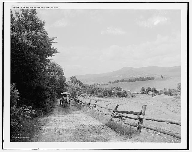 Mountain road in the Berkshires