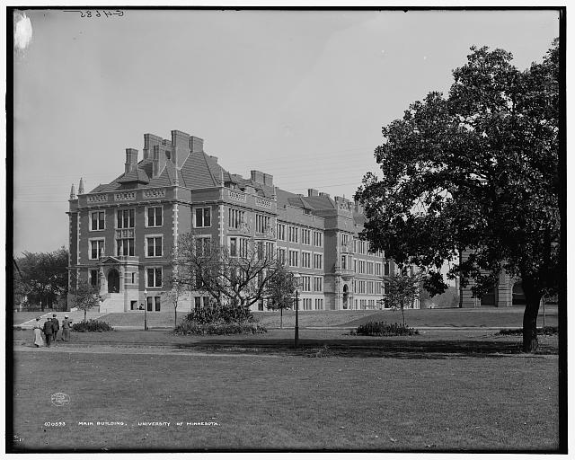 Main building [Folwell Hall], University of Minnesota
