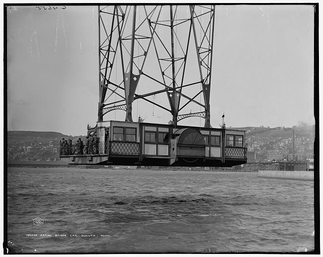 Aerial bridge car, Duluth, Minn.