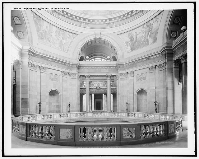 The Rotunda, state capitol, St. Paul, Minn.