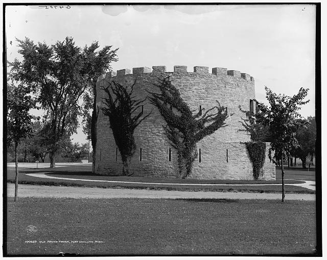 Old round tower, Fort Snelling, Minn.