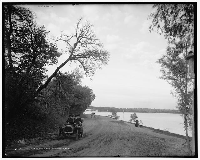 Lake Harriet Boulevard, Minneapolis, Minn.