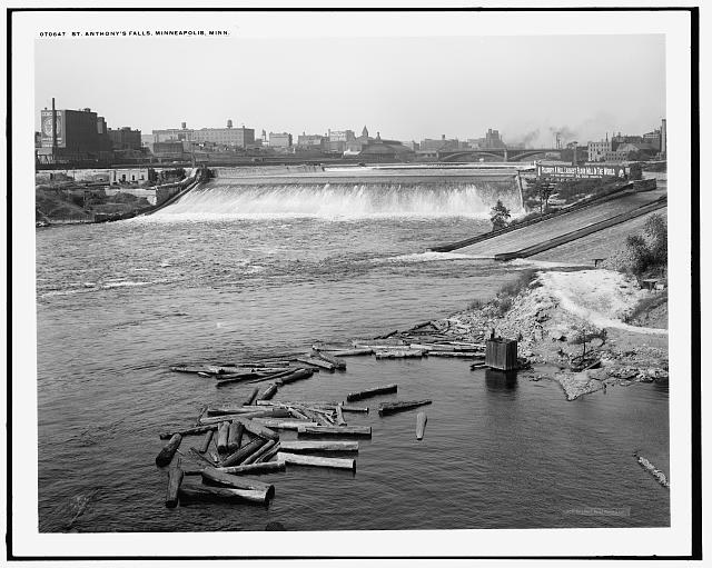 St. Anthony's Falls, Minneapolis, Minn.